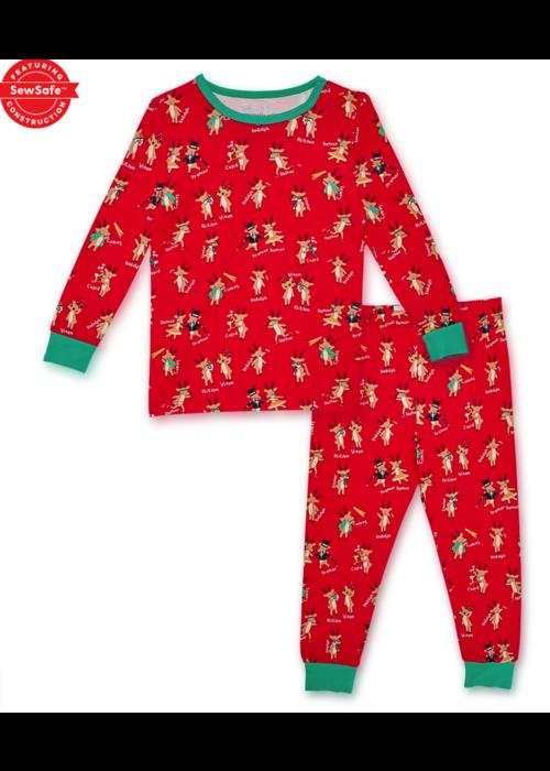 Magnetic Baby Rollicking Reindeer Modal Magnetic Toddler PJ's
