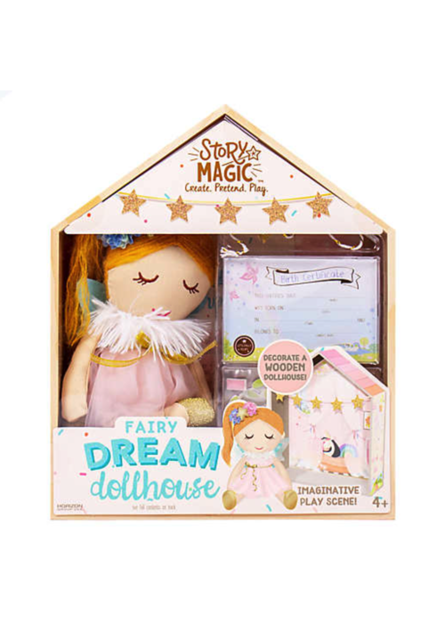 Horizon Group Make Your Own Fairy Dream Dollhouse by Story Magic