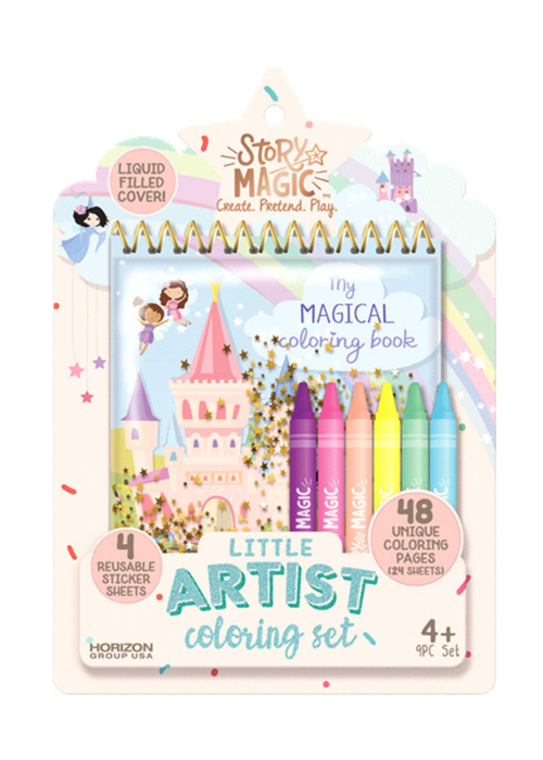 Horizon Group Little Artist Coloring Kit by Story Maker