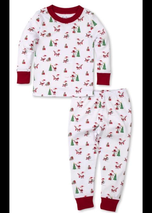 Kissy Kissy KK Santa Antic Pajama Set Snug