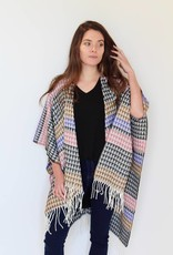 headed west aztec poncho