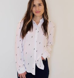 rails: lightening bolt blouse
