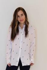 rails: lightening bolt blouse