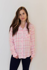 rails: breast cancer awareness flannel