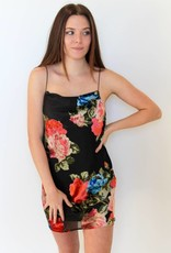 Show Me Your Mumu: Sabine Slip Dress- Midnight