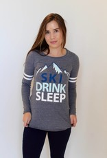Chaser: Ski Drink Sleep Long Sleeve Tee