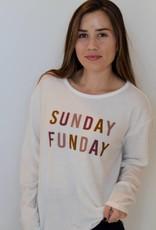 Sunday Funday Cozy Sweatshirt