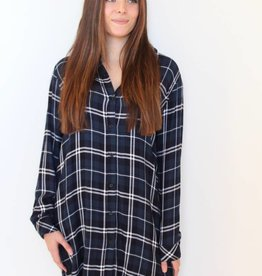 Rails: Spruce Plaid Shirt Dress