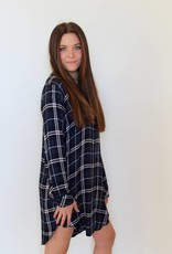 Rails: Spruce Plaid Shirt Dress