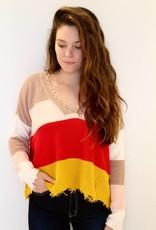 Color Me Crazy Knit Crop Sweater