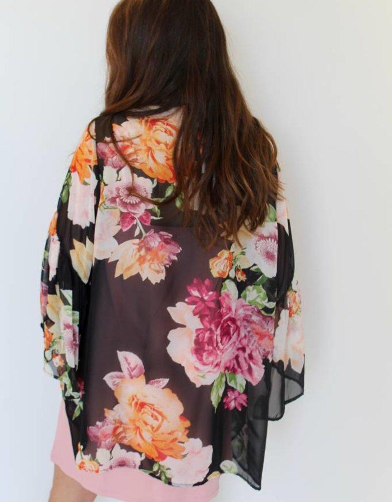 Garden Party Floral Kimono