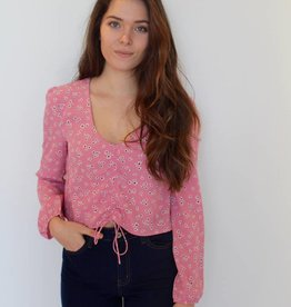 Amuse Society: Bianca Woven Top