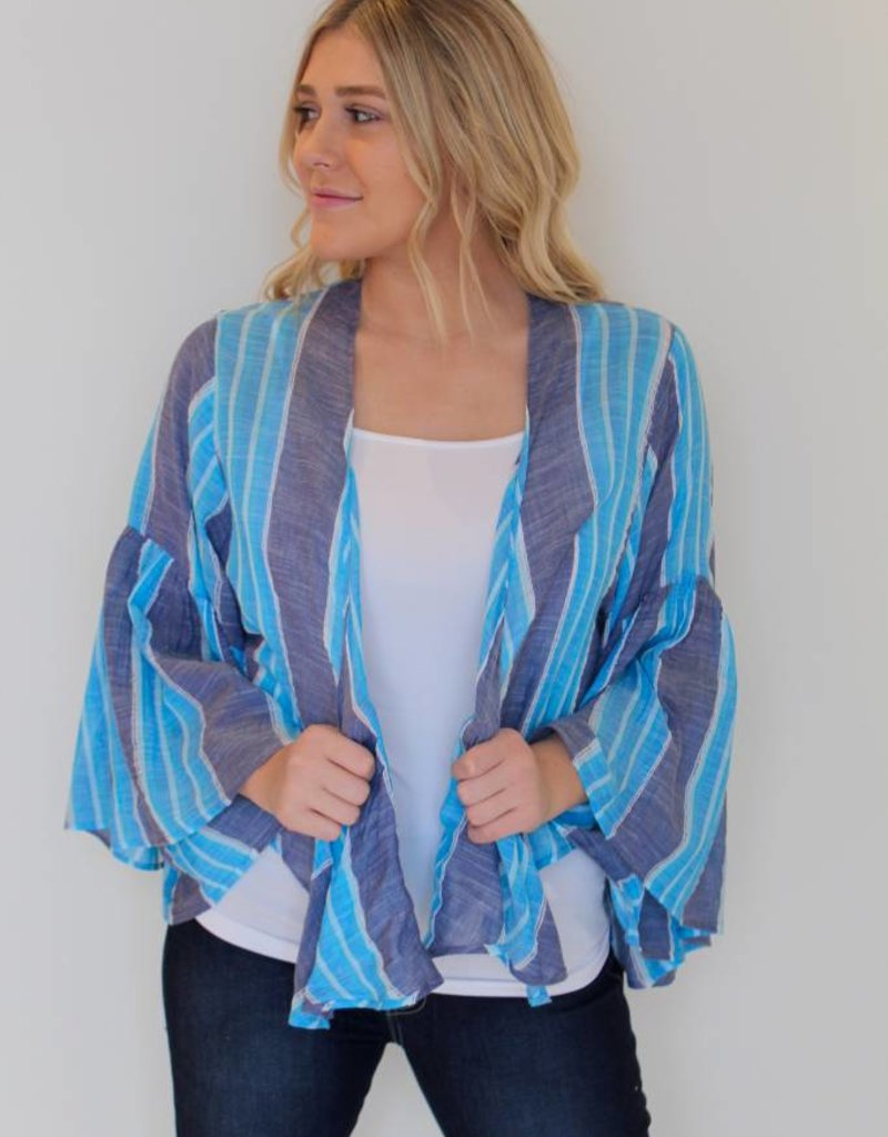 Bolero Stripped Tie Top