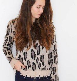 Jungle Fever Distressed Sweater