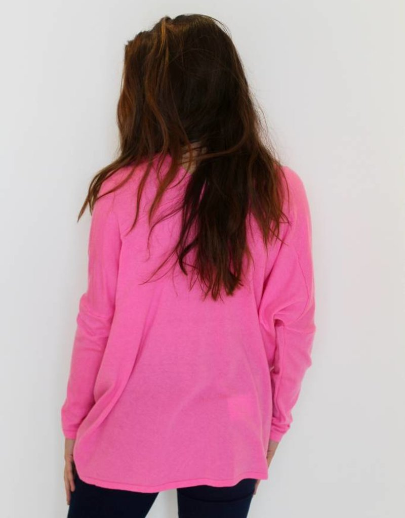 Spring Time Lightweight Knit Tunic
