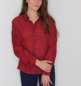 Amuse Society: Everyday Love Woven Top