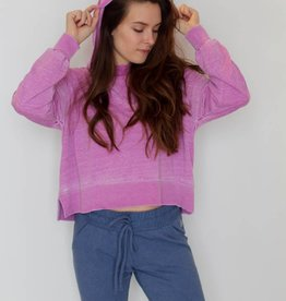 Milly Hooded Sweatshirt- Orchid