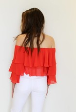 Show Me Your Mumu: Copacabana Crop Chiffon Top