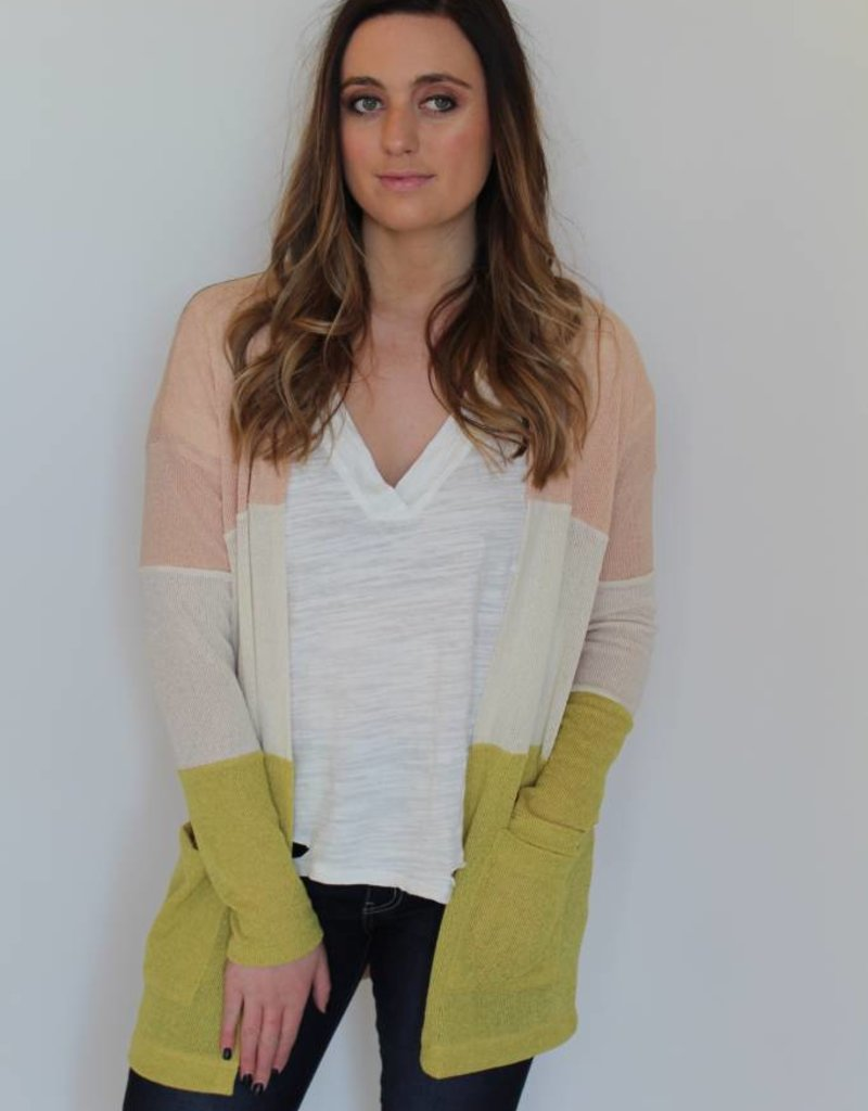 Spring Time Fine Cardigan
