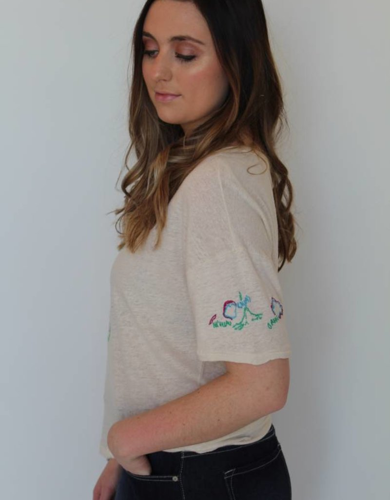 Free People: Beach House Tee Shirt