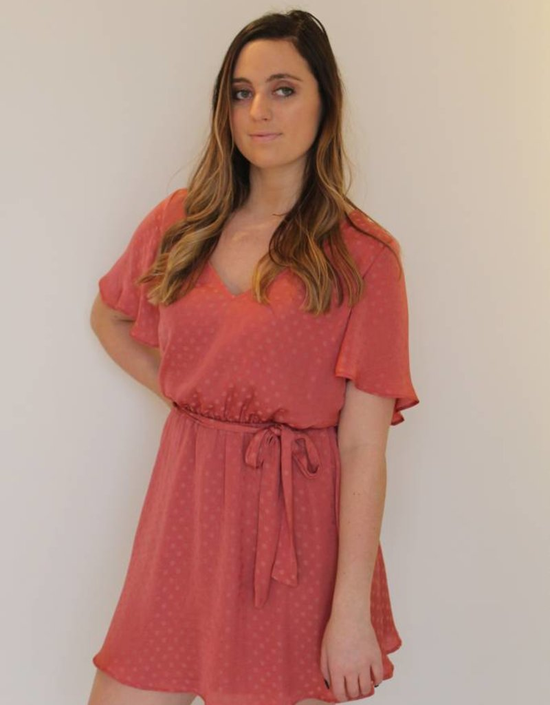 Show Me Your Mumu: Anastasia Sangria Dress - Silky Dots