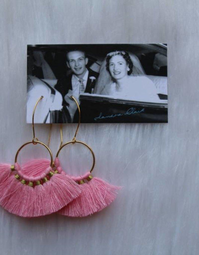 Sandra Claire: Tassel Earrings