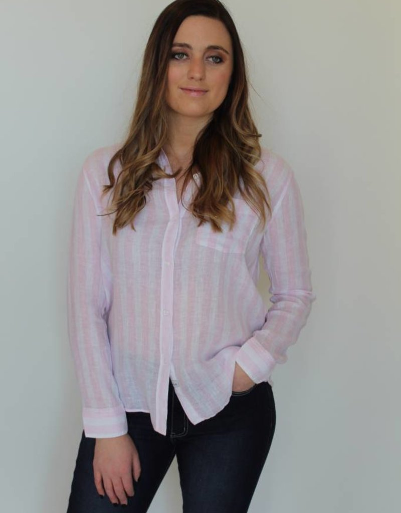 Rails: Charli Button Up - Perth Stripe