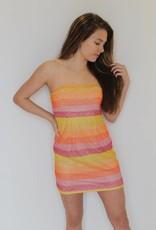 Show Me Your Mumu: Clarissa Dress - Fiesta Sunset Stripe