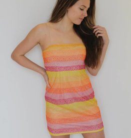 Show Me Your Mumu: Clarissa Dress - Fiesta Sunset Stripe