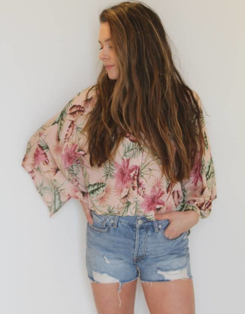 Free People: Sofia Distressed Shorts