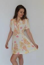 Free People: Blue Hawaii Mini Dress