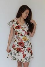 Tropical Oasis Flutter Dress