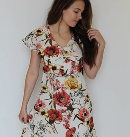 Tropical Oasis Flutter Dress