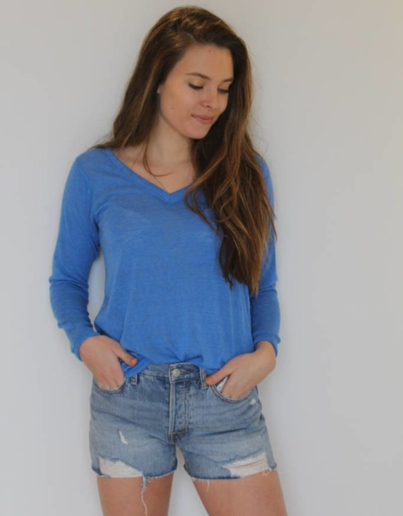 You and Me V-Neck Top