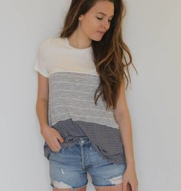 Blurred Lines Stripe Top