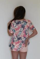 Tie Dye Print Tunic