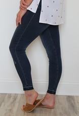 SPANX: Distressed Skinny Jean - Medium Wash