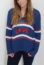 Wooden Ships: Retro Love Pullover