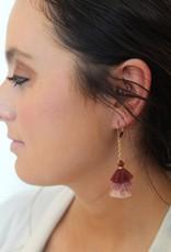 Small Multi Tassel Earrings
