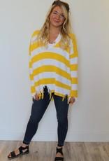 Show Me Your Mumu: Delphina Distressed Sweater