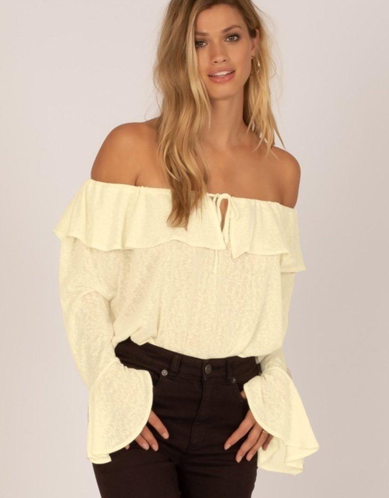 Amuse Society: Bella Babe Knit Top