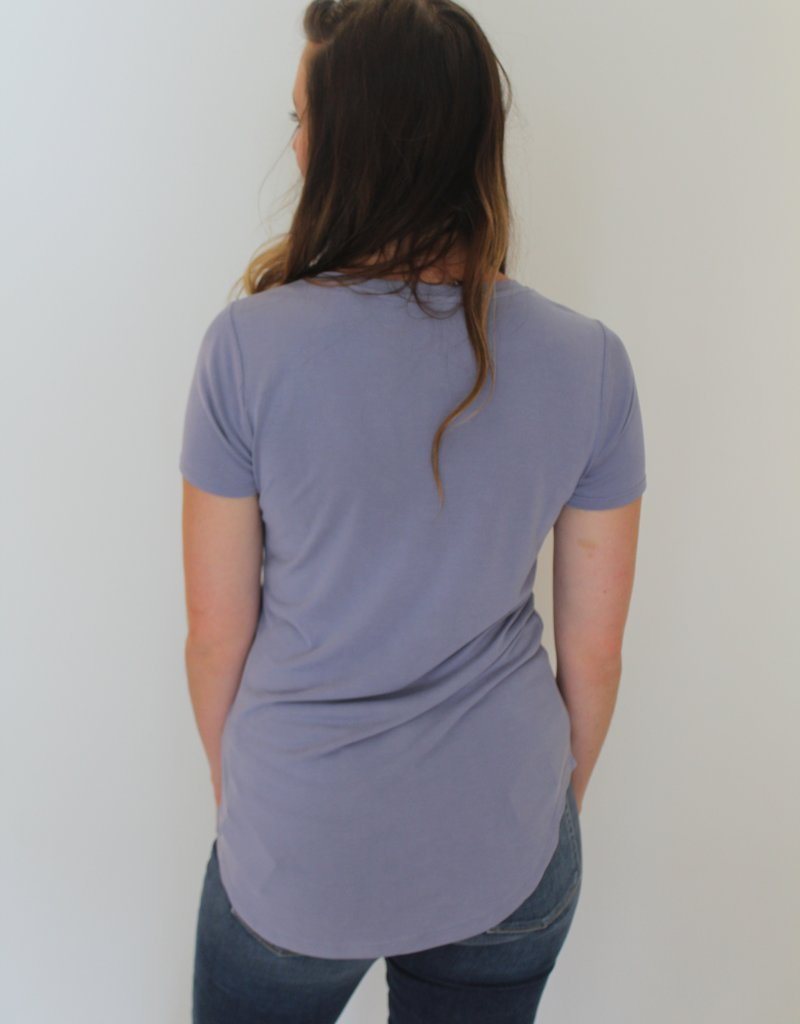 Another Love V Neck Tee Shirt