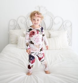 Posh Peanut: Pajama Set - Black Rose
