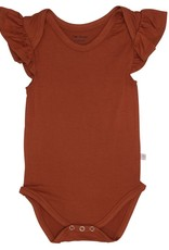 Posh Peanut: Ruffle Cap Sleeve Bodysuit