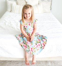 Posh Peanut: Printed Twirl Dress
