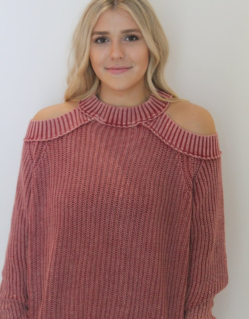 Free People: Half Moon Bay Pullover Sweater