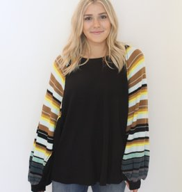 Free People: Rainbow Dreams Sweater