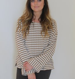Show Me Your Mumu: Vega Pullover- Brady Knit Caramel