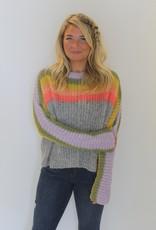 Free People: See The Rainbow Sweater