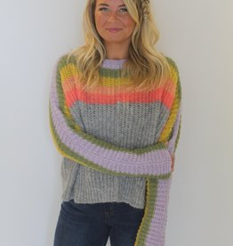 Free People: See The Rainbow Sweater
